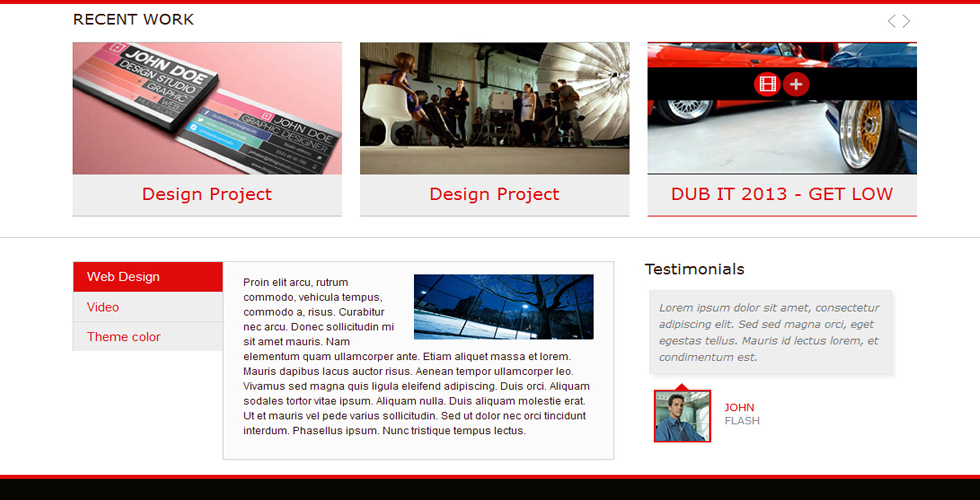 portfolio-theme-wordpress-red-blue