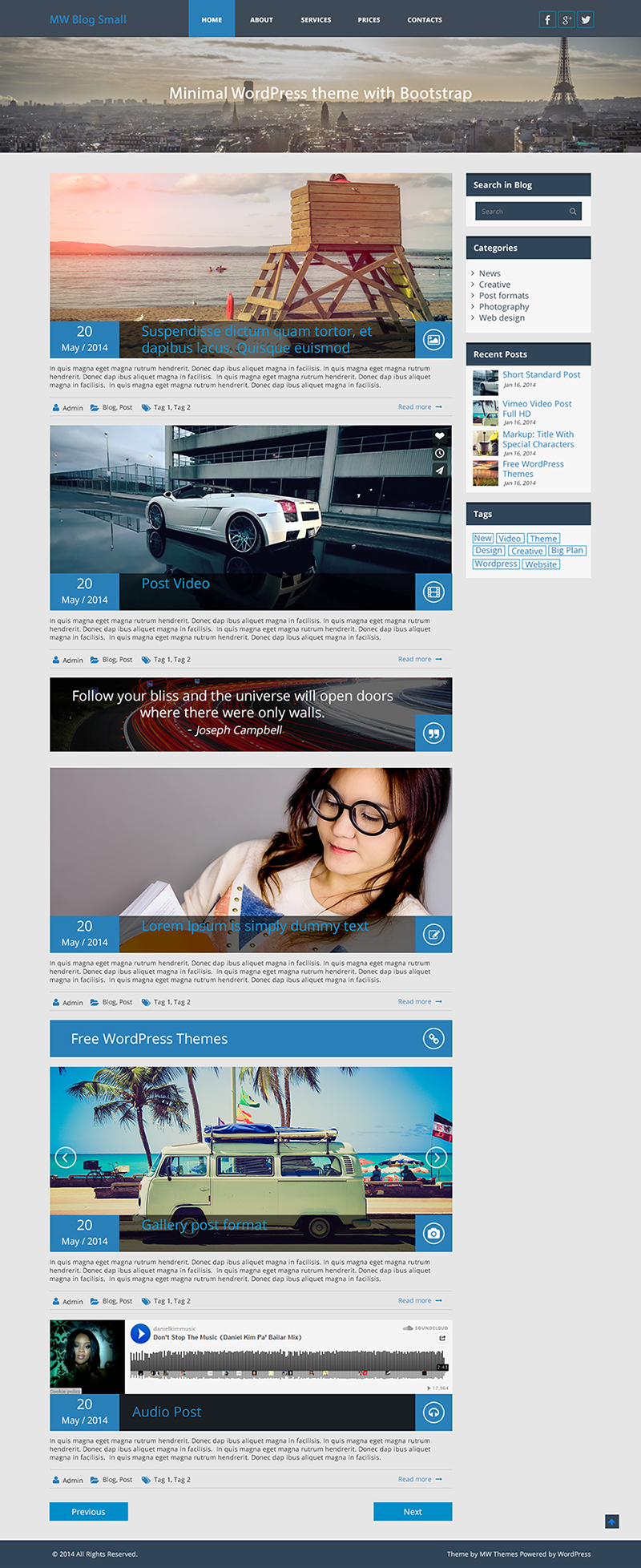 mw-blog-small-free-responsive-theme-wordpress