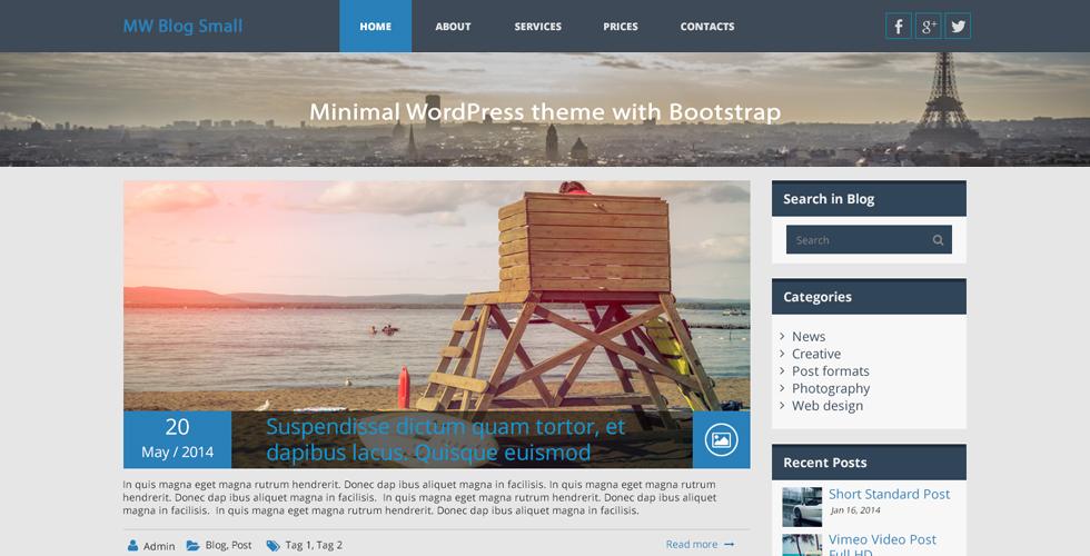 mw-blog-small-free-wordpress-theme-bootstrap