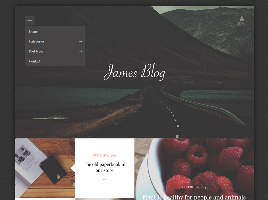 james-blog-simple-personal-wordpress-blog