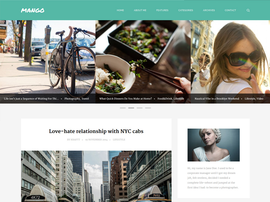 mango-awesome-wordpress-theme-clean-design