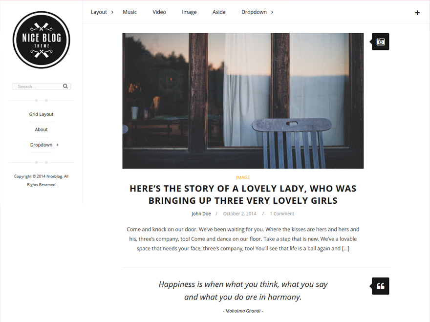 niceblog-clean-awesome-blog-wordpress-theme
