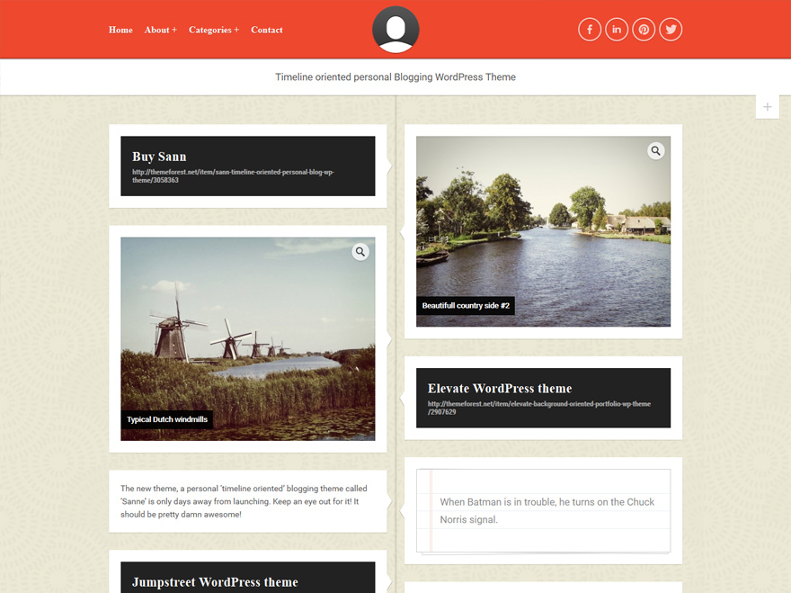 sann-personal-blog-wp-theme