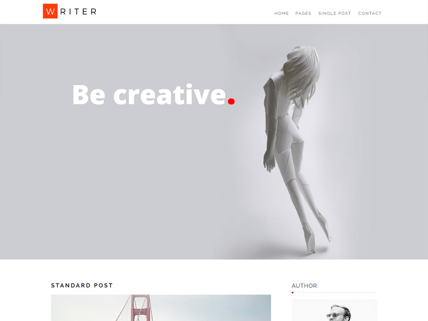 writer-modern-wordpress-theme