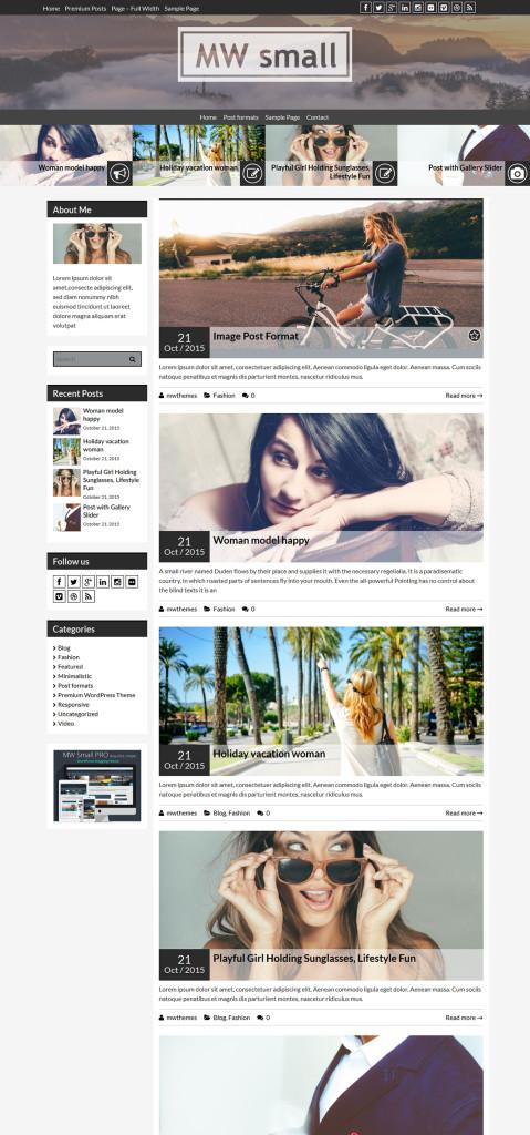 mwsmall-personal-blog-wordpress-theme-left-sidebar
