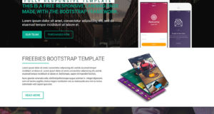 Oginer App Landing Bootstrap Template Free Download