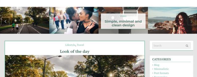 Pugini Free Blog Theme – New update ver 1.0.1