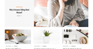 Clean and modern WordPress theme blog about personal, fashion, lifestyle