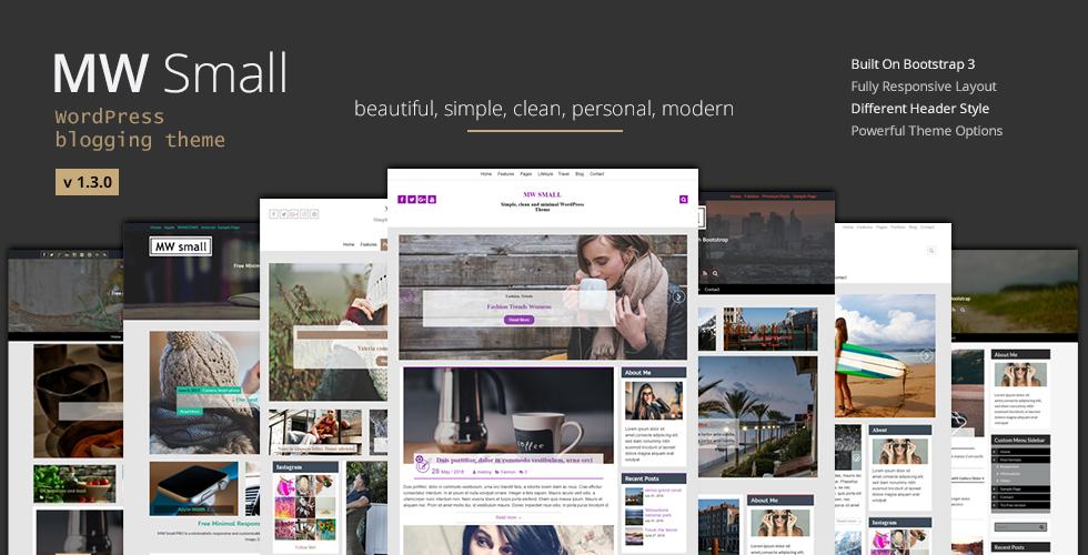 Personal Blogging WordPress Theme